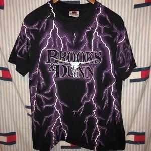Vintage Brooks and Dunn 1993 stampede tee